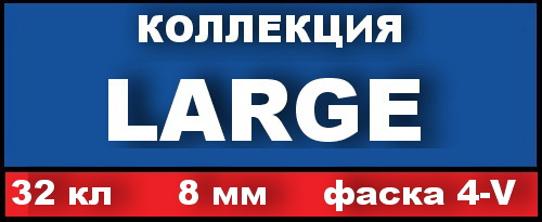 Large(РФ), 32кл, 8мм, 4V