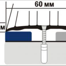 Порожек A4 (ширина 60 мм)