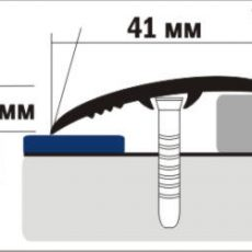 Порожек B4 (ширина 40 мм)