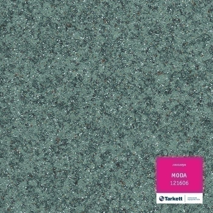 Линолеум Tarkett (Таркет) Moda 1216 06 Зеленый