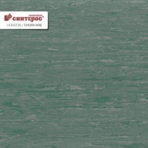 Линолеум Tarkett (Таркет) Горизон Horizon 006 (зеленый)
