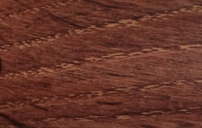 Порог Пластал А30 (30мм) Дуб мореный (с отверстиями)