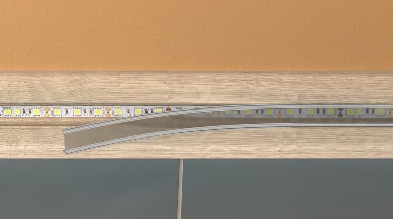 Плинтус Rico Leo 176 Венге (Рико Лео - 56мм) изображение 6