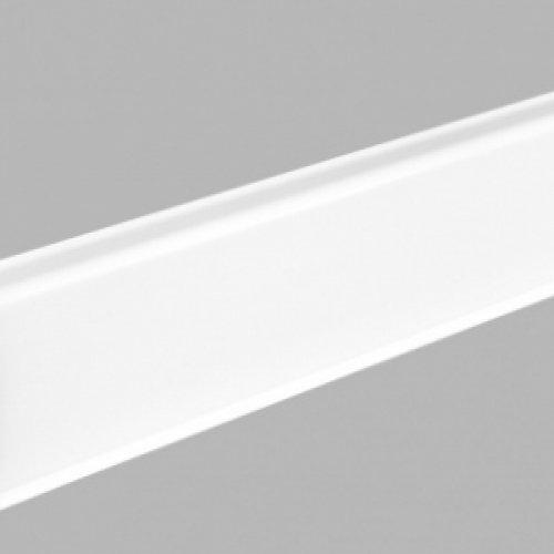 Плинтус Arbiton INDO (Арбитон Индо) 01 Белый Блеск